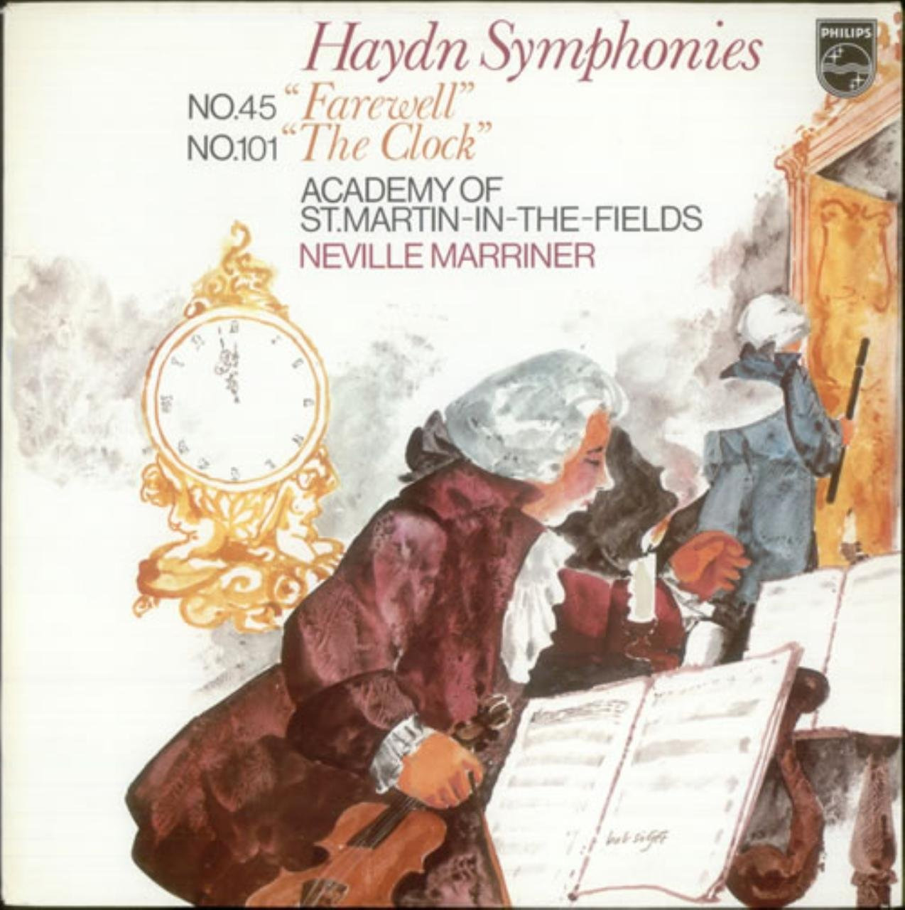 Haydn Symphonies: No.45 ''Farewell''; No.101 ''The Clock''