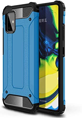 Amazon Com Galaxy A71 5g Case Samsung A71 5g Case Futanwei 2 In 1 Heavy Duty Shock Armor Dual Layer Full Body Protective Shockproof Drop Proof Defender Hybrid Cover For Samsung Galaxy A71 5g Blue Home Improvement