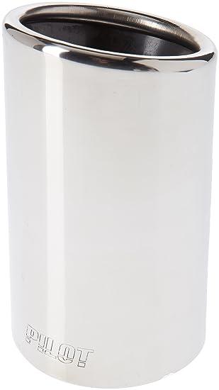 ER60024 - Acero inoxidable de tubo de escape del tubo de escape de para atornillar Embellecedor de tubos de escape universales: Amazon.es: Coche y moto