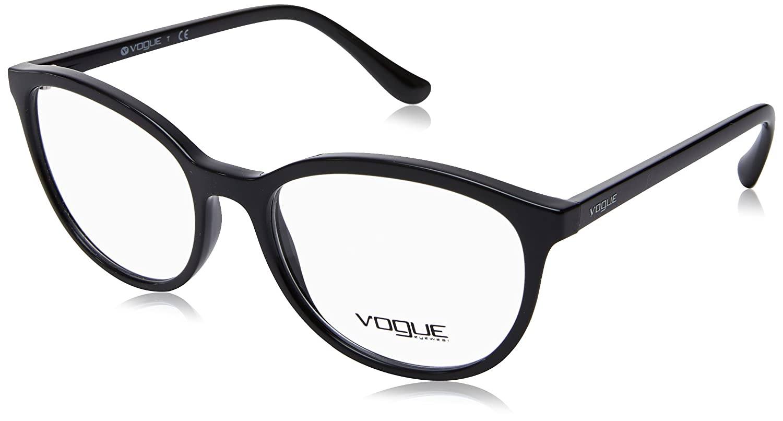611432c2c14 Vogue - VO 5037, Schmetterling, Propionat, Damenbrillen, BLACK(W44),  51/17/140: Amazon.de: Bekleidung