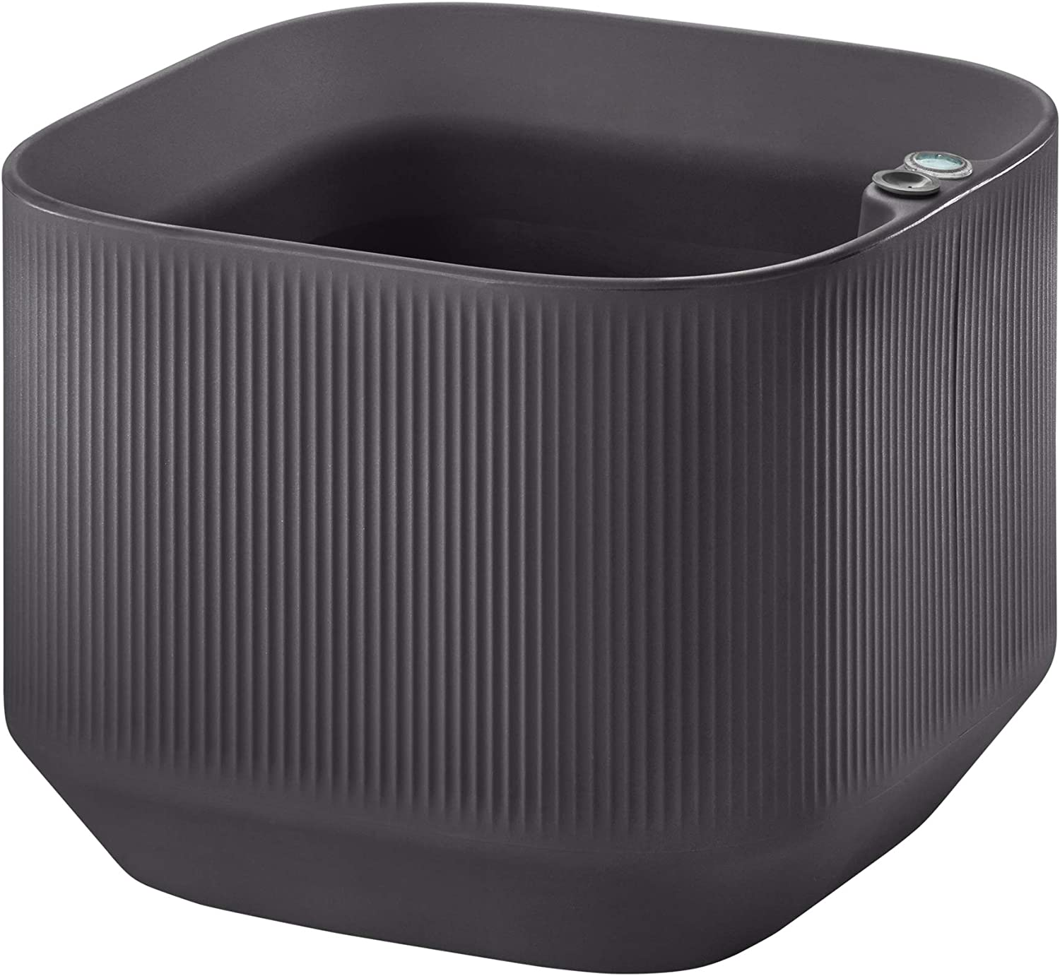 Crescent Garden Modular Large Trough Planter Box, Self-Watering Pot for Indoor and Outdoor Plants, Modern Planter 20