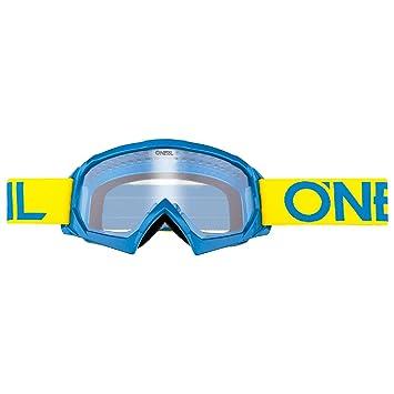 O'Neal B-10 Kinder Solid Goggle Kinder Crossbrille Motocross DH Downhill MX Anti-Fog Glas Youth, 6024-11, Farbe schwarz