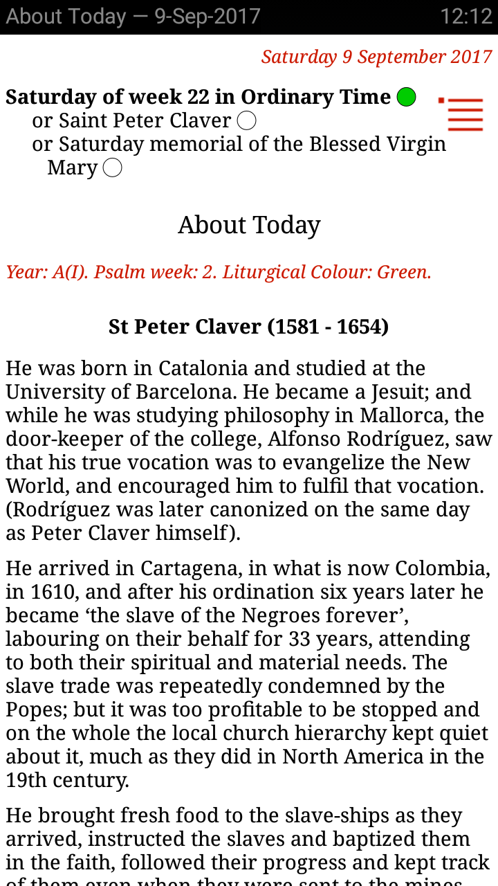 Amazon catholic calendar from universalis appstore for android fandeluxe Gallery