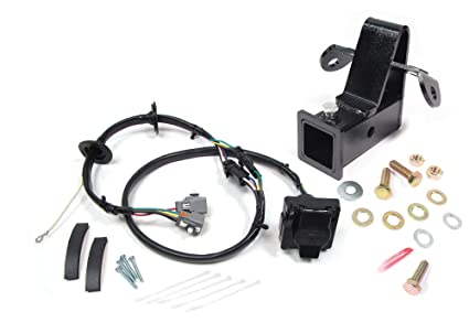 amazon com trailer wiring kit with a 2 inch bolt on receiverimage unavailable image not available for color trailer wiring kit