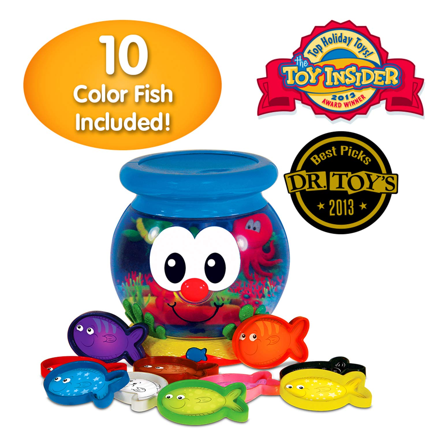 The Learning Journey Learn with Me, Color Fun Fish Bowl by The Learning Journey: (Image #1)