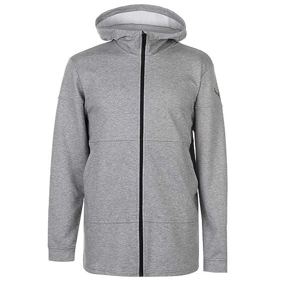 3d1c146674c0 Puma Energy Full Zip Hoodie - AW18 Grey  Amazon.co.uk  Clothing