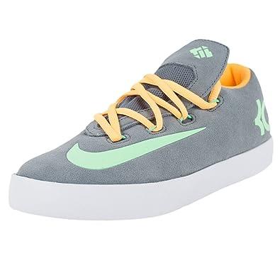 Nike Kids KD Vulc (GS) Sneaker Shoes-Cool Grey/Atomic Mango-