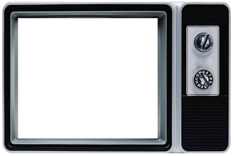 Vintage Retro 80s Television Selfie Frame Poster