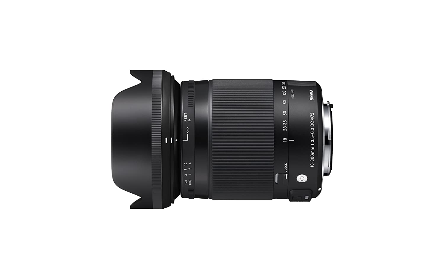 Sigma 18-300mm F3.5-6.3 DC Macro OS HSM Lens for Canon