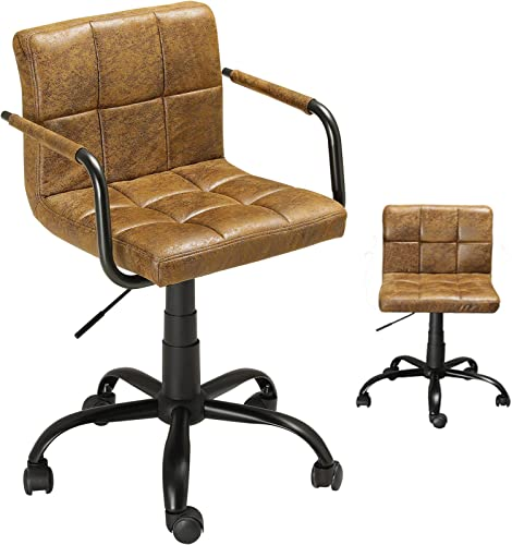 DICTAC Retro Desk Chair Home Office Chair