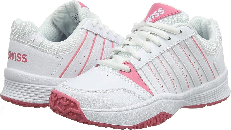 K-Swiss Performance Unisex Kids Court Smash Omni Tennis Shoes