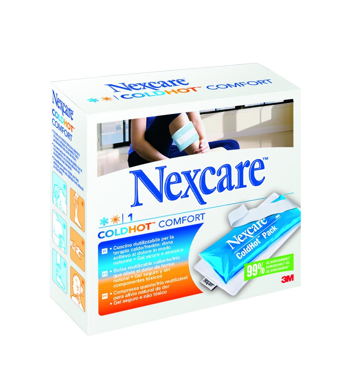 Amazon.com: Nexcare Coldhot Comfort10x26,5: Health ...