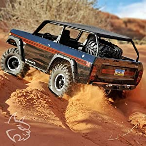 Redcat Racing GEN8 Scout II Axe Edition with Hobbywing Axe Brushless System & More (Color: Black)