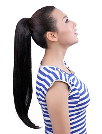 Amazon maysu 22 inch clip in ponytails hair extensions clip maysu 22 inch clip in ponytails hair extensions clip on synthetic pt012 2 pmusecretfo Choice Image