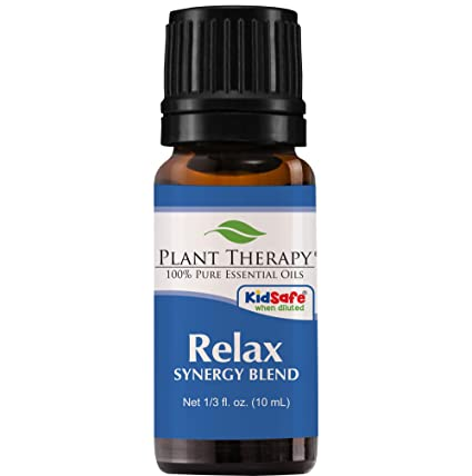 Relax Synergy (Mental Relaxation) Essential Oil Blend. 10 ml ...