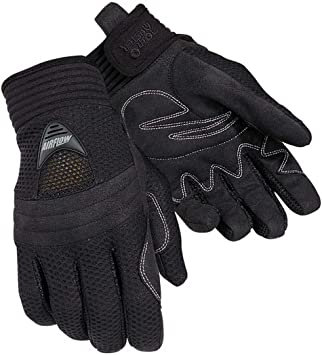 Tour Master Airflow Womens Textile On-Road Motorcycle Gloves Medium TOURMASTER 82-825-HH-FBA Black