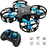 SNAPTAIN H823H Mini Drone for Kids, RC Nano Quadcopter w/Altitude Hold, Headless Mode, 3D Flips, One Key Return and Speed Adj