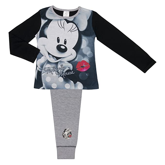 Toddler Minnie Mouse Girls Long Sleeve Poly Pajamas