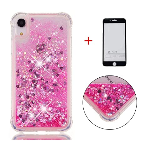 coque iphone xr rose des sables