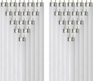 Sunlite F32T8/SP841 32-Watt T8 Linear Fluorescent Light Bulb Medium Bi Pin Base, 4100K, 30-Pack