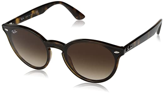 902bef9f0 Óculos de Sol Ray Ban Blaze Round RB4380N 710/13-37: Amazon.com.br ...