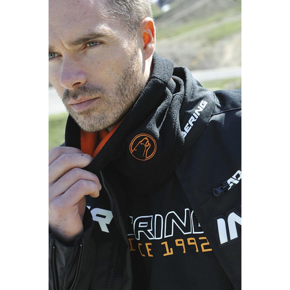 Bering - Tour de cou - TUBE POLAIRE ELASTIQUE - Couleur : Noir/Orange BAF020