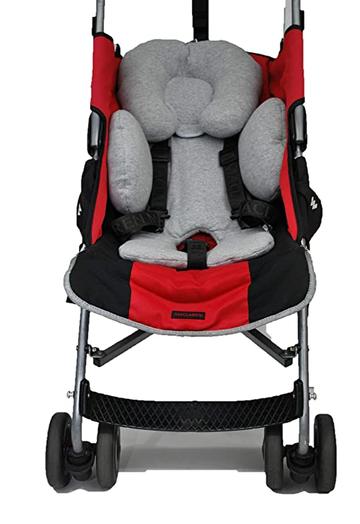 Haim Baby Cojin Reductor Universal para maxicosi, grupo 0, silla de paseo, etc (Gris)