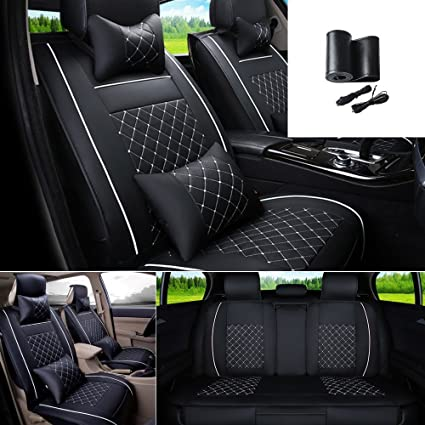 Automobiles Seat Covers Automobiles & Motorcycles Smart 2pcs Car Headrest General Leather Head Rest For Bmw Audi Kia Honda Suv Suitable For All Models Of Cars To Be Distributed All Over The World