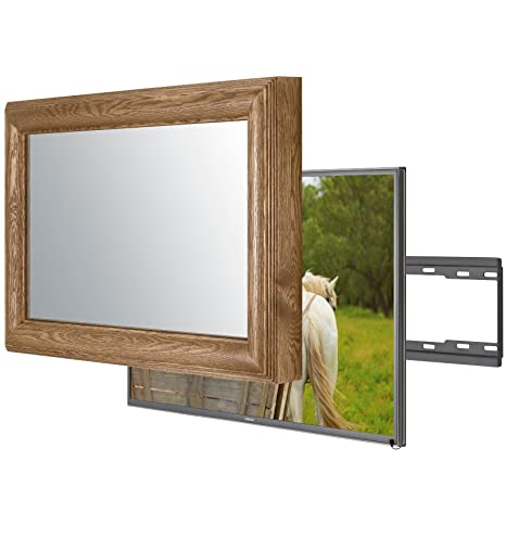 Handmade Framed Mirror TV with Sony Bravia KD49XE8004: Amazon.co.uk ...