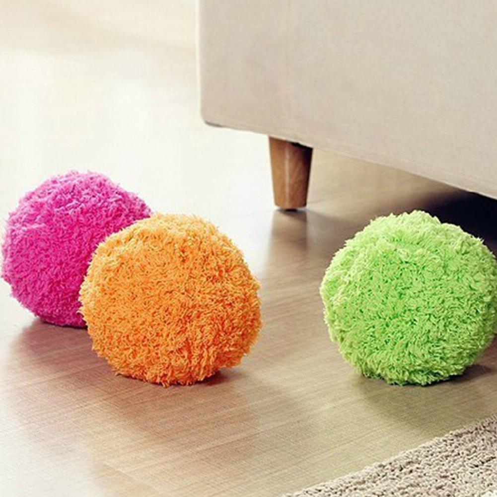 Ainstsk automatico rotolamento palla pulitore elettrico mini spazzare robot con cerniera ricoperto la polvere utile per cucina ufficio camera da letto, inviati in casuale, Random, Taglia libera