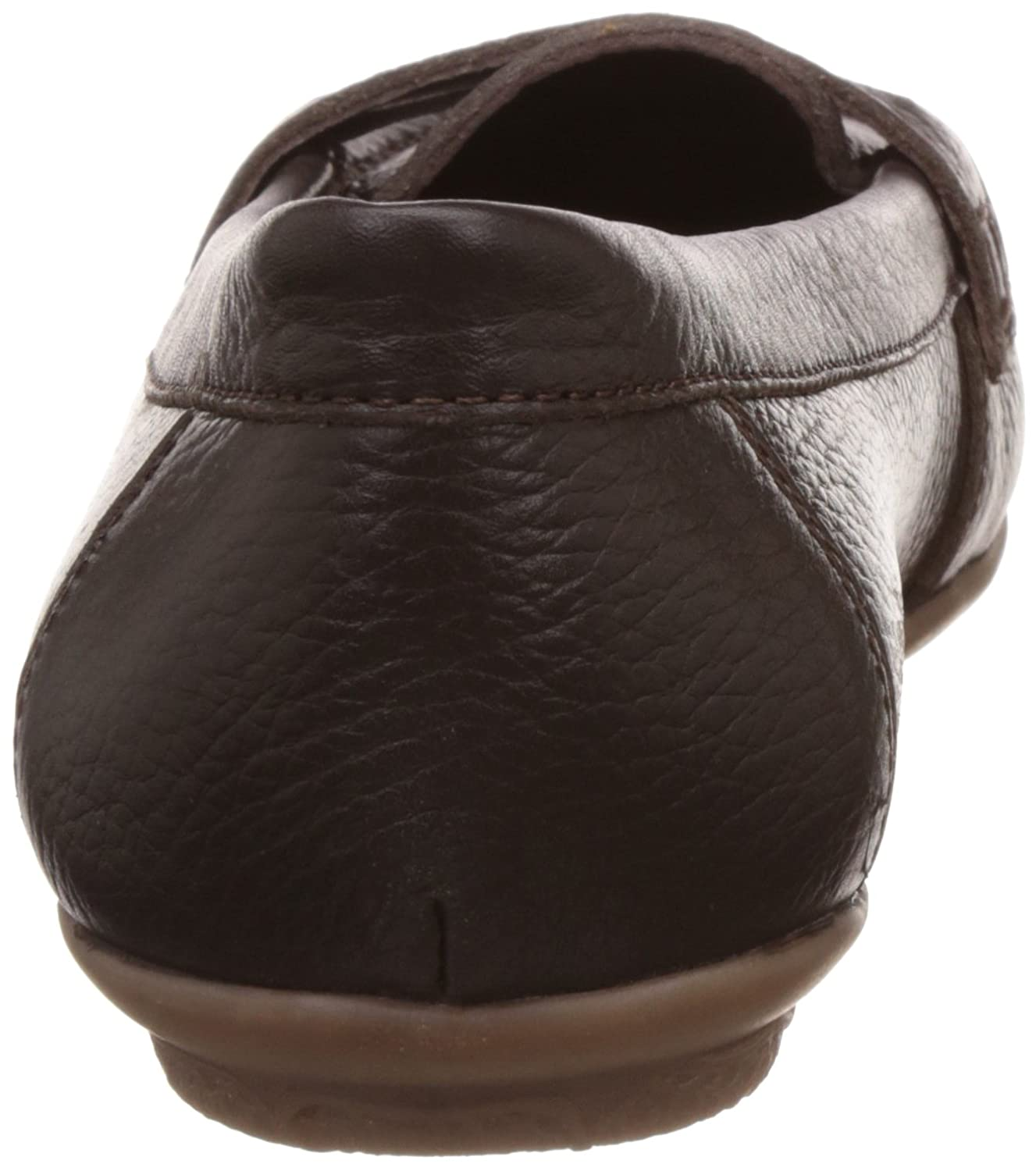 dfd56d1829c Hush Puppies Women s Ceil Penny Brown Leather Loafers and Mocassins - 8 UK  India (41 EU)(5544942)  Buy Online at Low Prices in India - Amazon.in