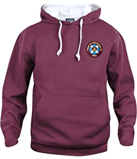 new arrival 885af 66238 Heart of Midlothian 1950s Hearts Football Hoodie Sizes S ...