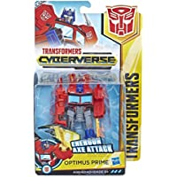 Transformers Cyberverse Warrior Class Optimus Prime E1901 - Hasbro