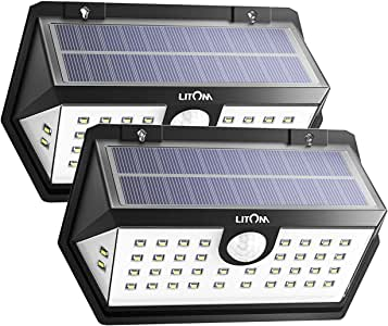 Litom Three Working Modes for Front Door, Yard, Garage, Deck, Porch, Shed, Walkway 6.66W, 3.7V