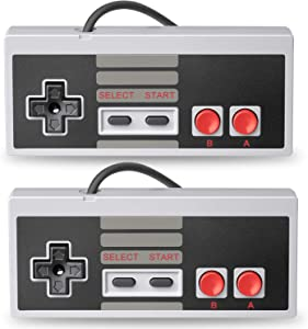 TOOPONE 2 Packs Classic USB Controller for NES, USB Game Gaming Controller Joypad Gamepad for Laptop Computer Windows PC/MAC/Raspberry Pi
