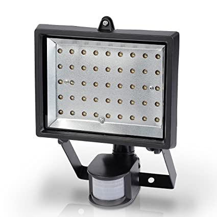 Varo POWLI211 - Proyector LED (con sensor de movimiento, 45 LED, 3 W