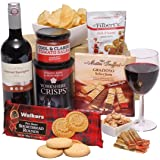 Red Wine Gift For Him - Men's Hampers & Gift Baskets For Him - Birthday Gift Hampers