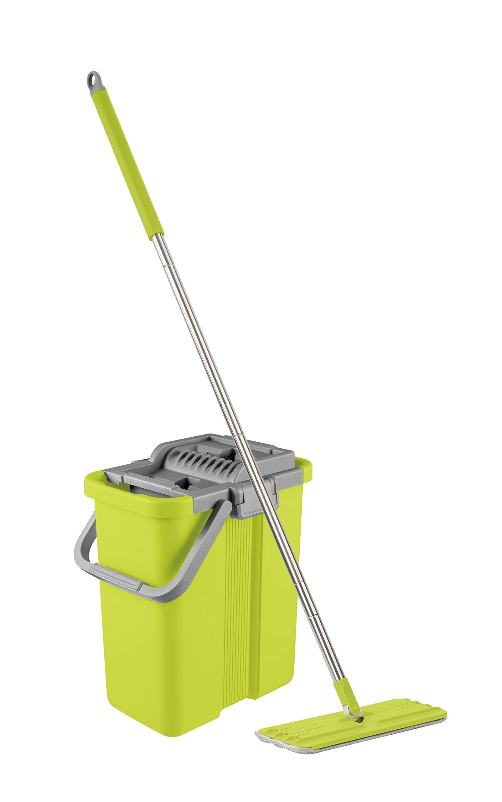 Mopnado Squeezy Clean Self Cleaning Microfiber Mop