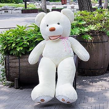 Vercart - Oso de peluche grande, regalo de cumpleaños para adultos y niños