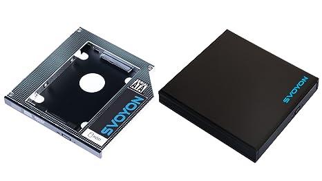 svoyon SATA3 adaptador Kit para Slimline (12.7 mm) portátil discos ...