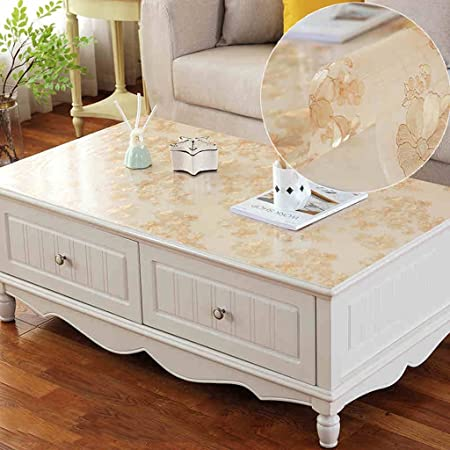 GYZ tablecloth Desk Cloth PVC Impermeable Mantel Transparente Mesa ...