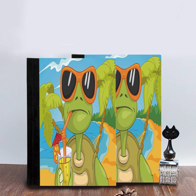Turtle Elegantes cuadernos con diseño de tortuga marina con ...