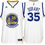 adidas Kevin Durant Golden State Warriors White Youth Swingman Home Jersey