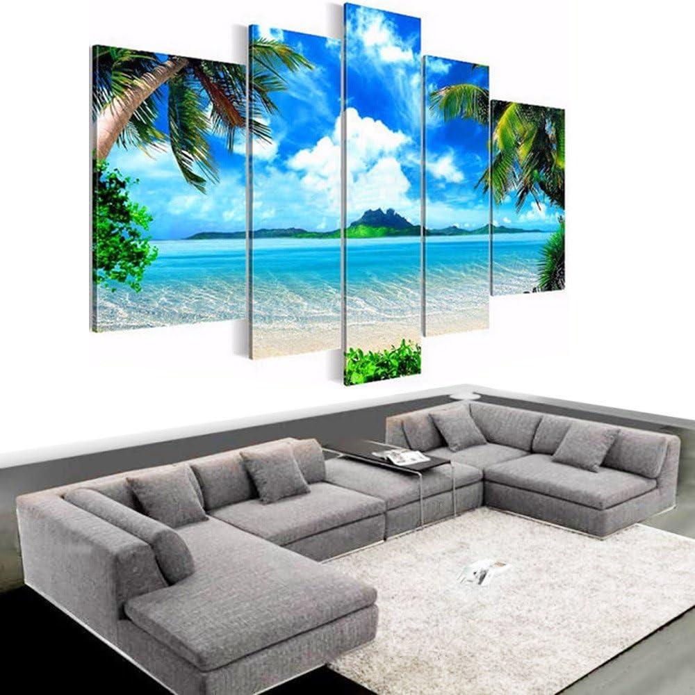 Wall Print Painting Set 5PCS Modern Canvas Art Home Decoration Unframed