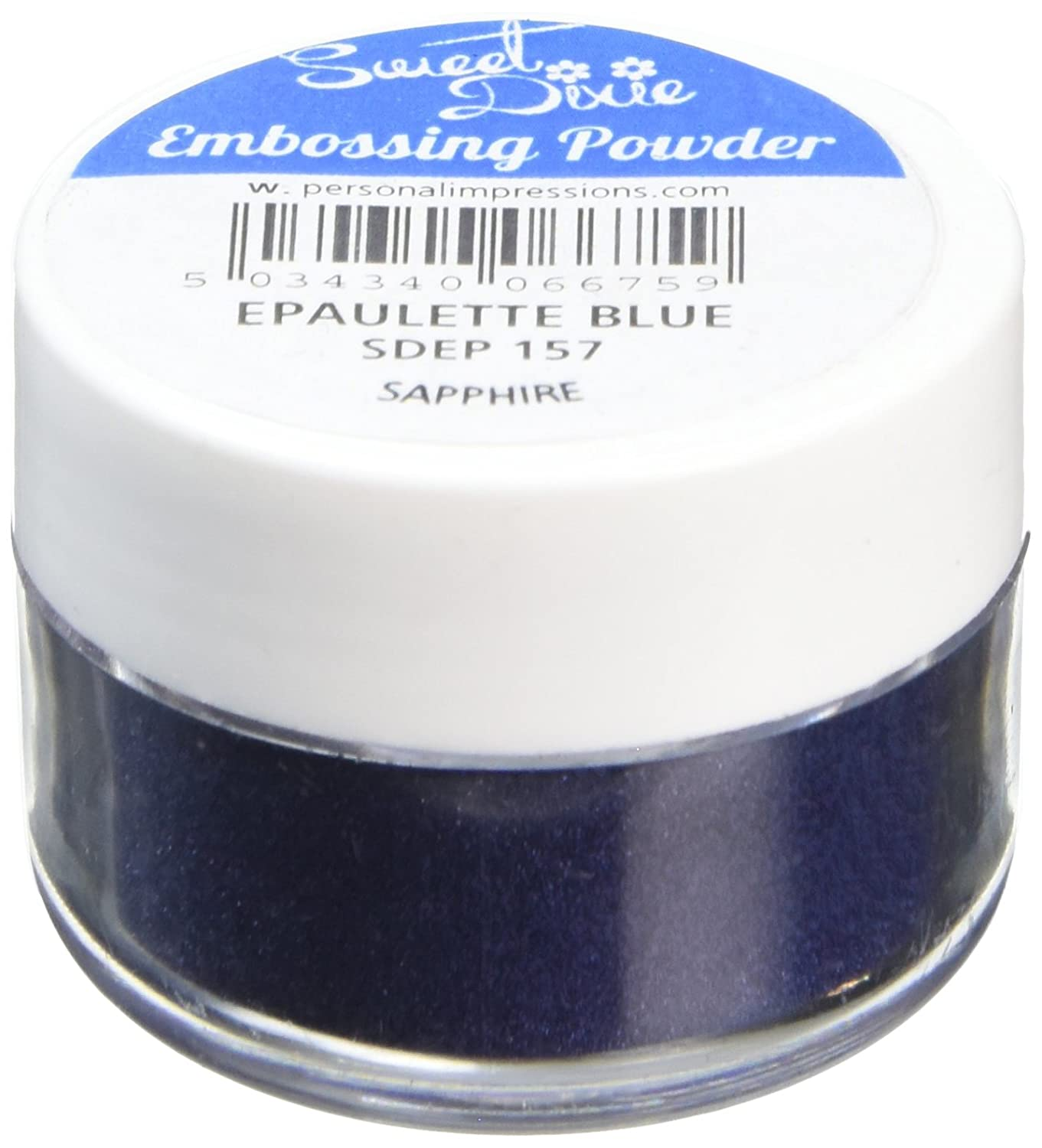 Synthetic Material 4 x 4 x 3 cm Sweet Dixie Embossing Powder Purple Sparkle