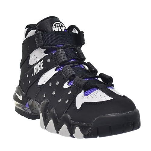 promo code 4e0b9 280fb Nike Kids Air Max CB  94 (GS) Black White Pure Purple