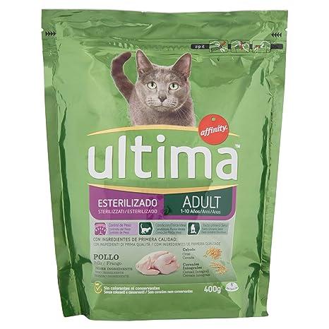 Ultima, Croccantini sterilizzati para Gatos con Pollo y Orzo – [Unidades de ...