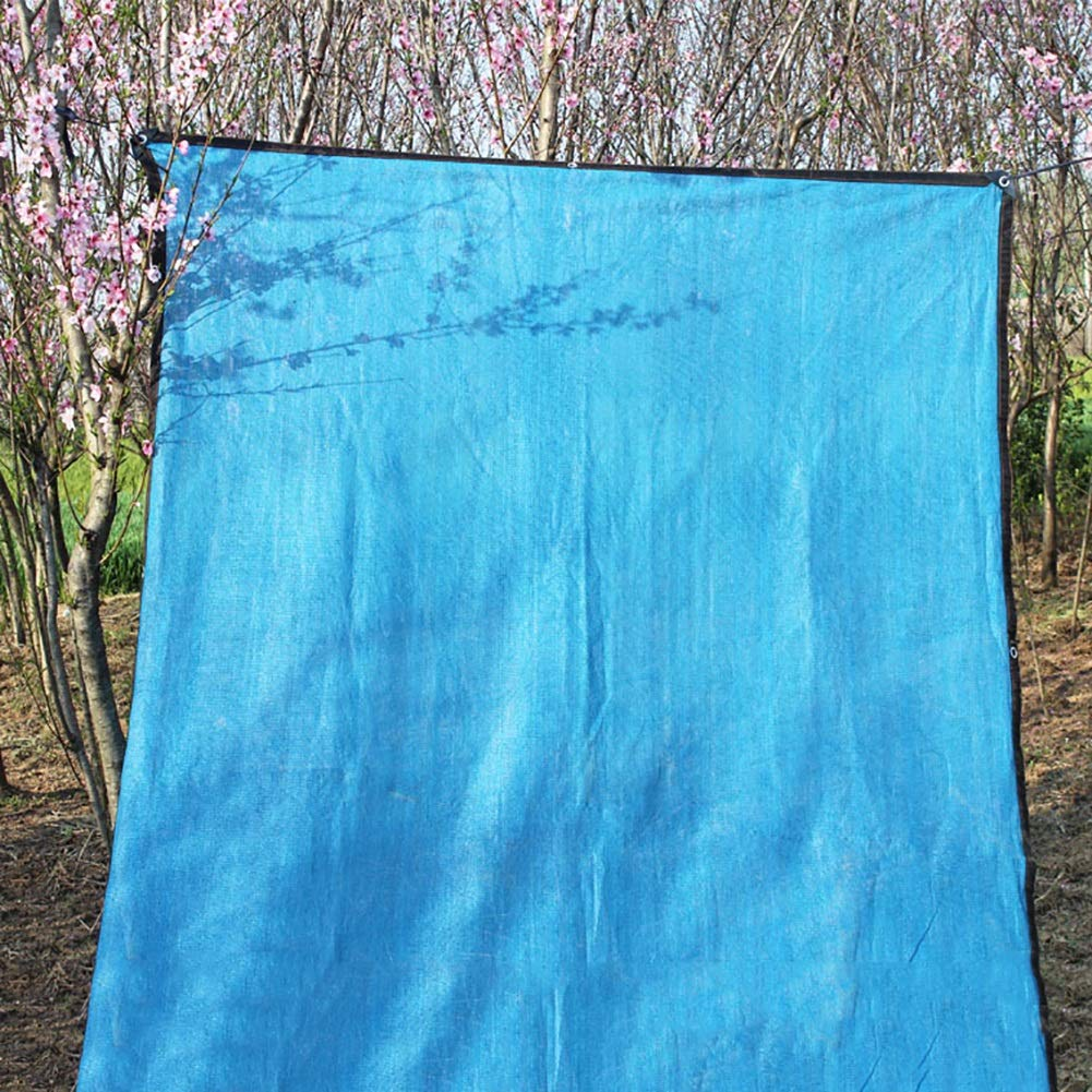 ガーデンファニチャー サンメッシュシェード布90%日焼け止めシェーディングネット用ガーデンフラワー植物カバー、カーポート、ブルー (Size : 10x20M) B07SPJ6HSC  10x20M