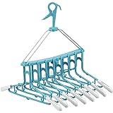 レック 新機能 ・ たためる 8連ハンガー スライド ( 洗濯ハンガー )