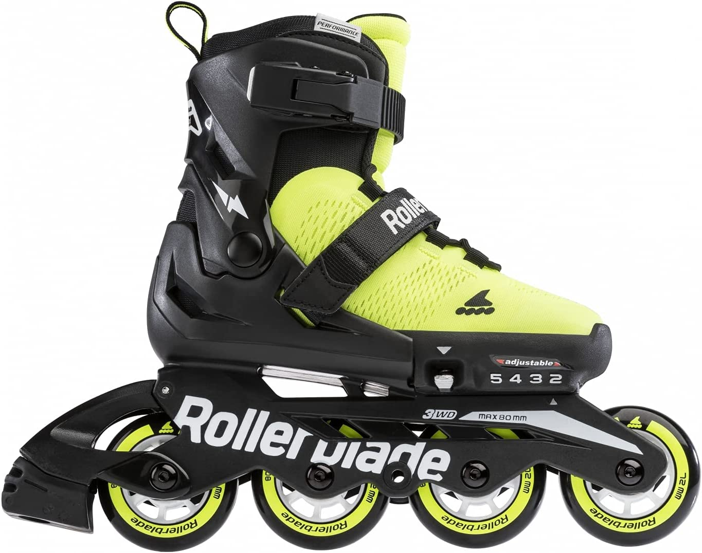Rollerblade Unisex-Youth Large discharge sale Microblade Se Award Inline Skate